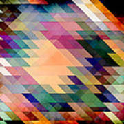 Triangles And Parallelograms Art Print
