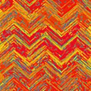 Tribal Pattern 019 Art Print