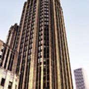 Tribune Tower Facade Art Print