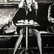 Tribute To Helmut Newton Art Print