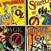 Tribute To Oz Art Print