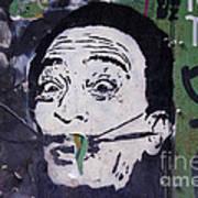 Tribute To Salvador Dali Art Print