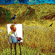 Tribute To Vincent Van Gogh - His Final Days Art Print