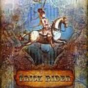 Trick Rider Art Print