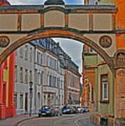 Trier Street Art Print