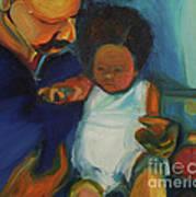 Trina Baby Art Print