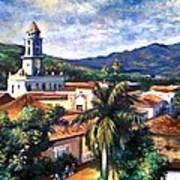 Trinadad Cuba Art Print