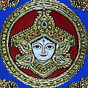 trinetra Durgaji Art Print