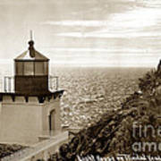 Trinidad Head Light Humboldt County California 1910 Art Print