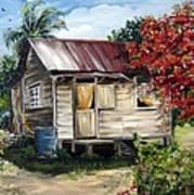 Trinidad Life 1  Art Print