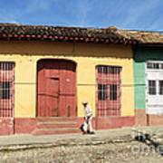 Trinidad Streets Cuba Art Print