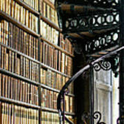 Trinity Collage Library Dublin Art Print by Dick Wood