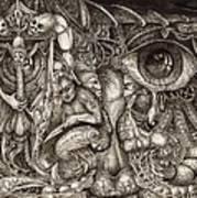 Tripping Through Bogomils Mind Art Print