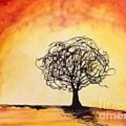 Tripping Tree Art Print