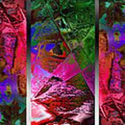 Triptych Chic Art Print