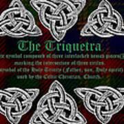 Triquetra Art Print