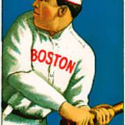 Tris Speaker Boston Red Sox Baseball Card 0520 Art Print