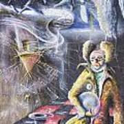Tristeza Art Print