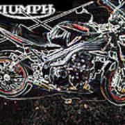 Triumph Abstract Art Print