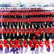 Trooping The Colour Art Print