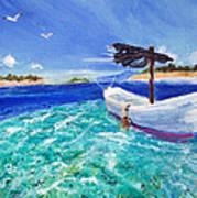 Tropic Breeze Art Print