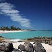Tropic Of Cancer Beach Exuma Bahamas Art Print