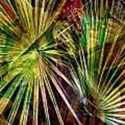 Tropical Abstract Art Print