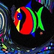 Tropical Cave Fish 2 Art Print