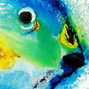 Tropical Fish 2 - Abstract Art By Sharon Cummings Art Print