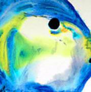 Tropical Fish 3 - Abstract Art By Sharon Cummings Art Print