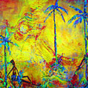 Tropical Heat Wave Art Print