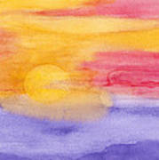 Tropical Horizon Art Print