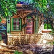 Tropical House Art Print