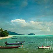 Tropical Seas Art Print