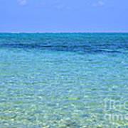 Tropical Seascape Art Print
