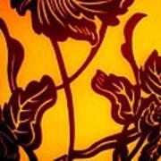 Tropical Silhouette Art Print