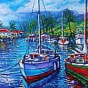 Tropical Splender Art Print