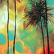 Tropics By Madart Art Print