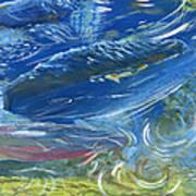 Trout Swirls Art Print