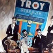 Troy Stopover Art Print