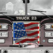 Truck 23 Art Print