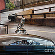Truck - The Mack Bulldog Art Print