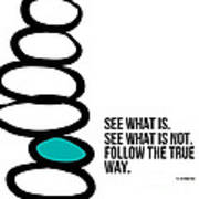 True Way Art Print