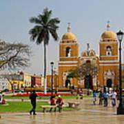 Trujillo Peru Plaza Art Print