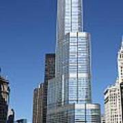 Trump Tower Chicago Art Print