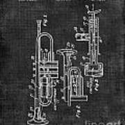 Trumpet Patent Art Print