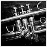 Trumpet Triptych Art Print