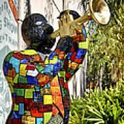Trumpeter Art Print