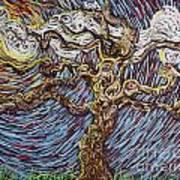 Trunk Of A Tree Art Print