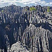 Tsingy De Bamaraha Madagascar Art Print